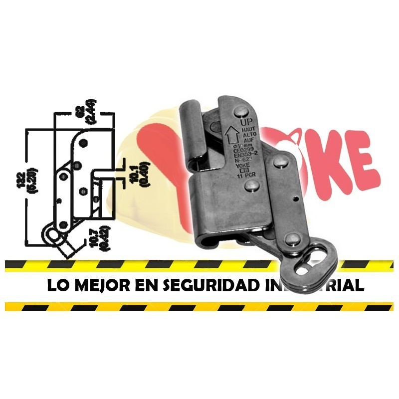 Freno para cable N-623 YOKE