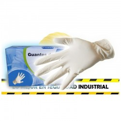 Guante latex desechable