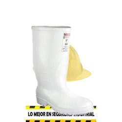 Bota Workman Safety blanca