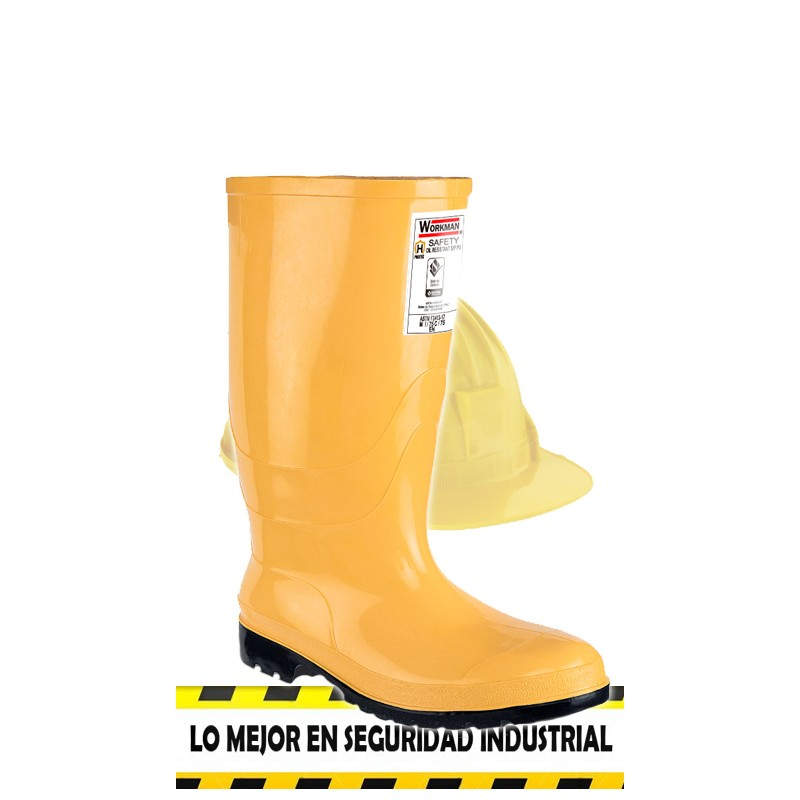 Bota Workman Safety amarilla